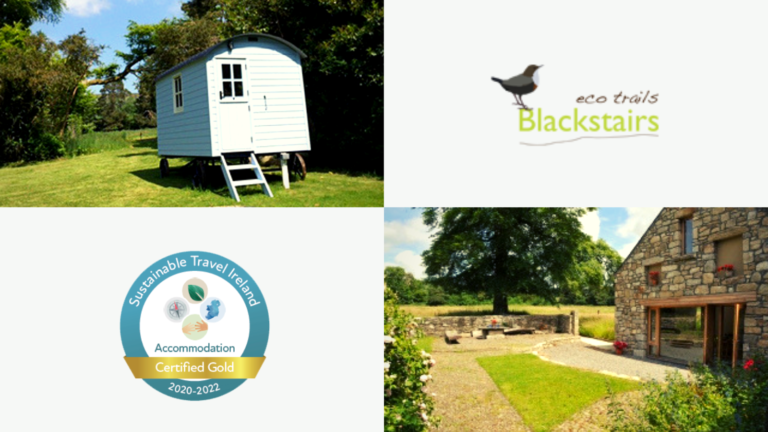 Blackstairs Eco Trails Gold Certificate Members To Sustainable Travel Ireland